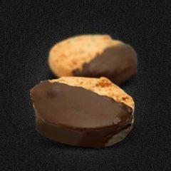 Castanha com chocolate